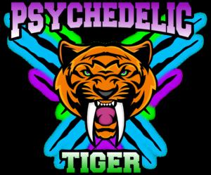 Psychedelic Tiger Logo