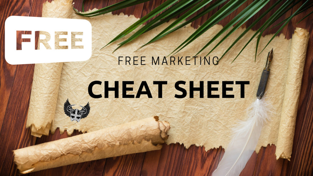 The Valhalla Collective Marketing Cheat Sheet